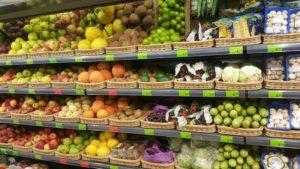 Цены на овощи и фрукты в Беларуси