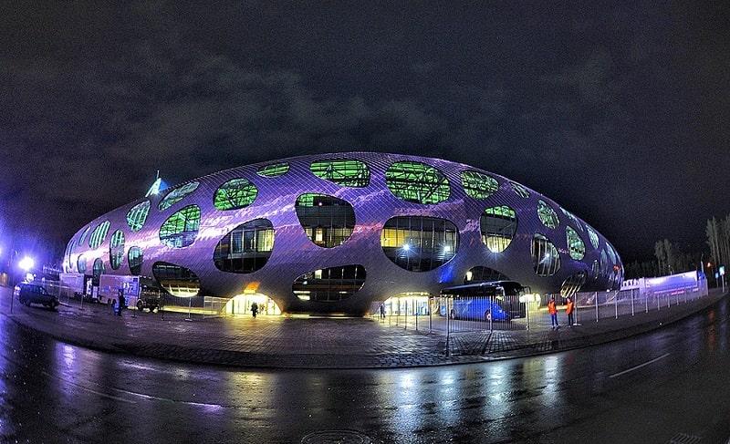 Стадион «Борисов-арена» в Борисове
