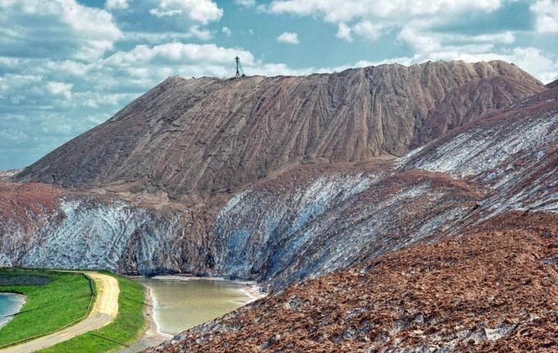 Солигорские горы - белорусская достопримечательность
