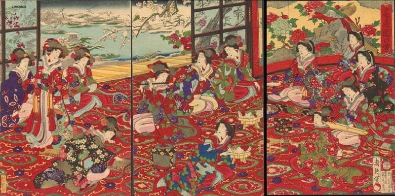 Страна Ямато в японской и европейской гравюре 17-19 вв.