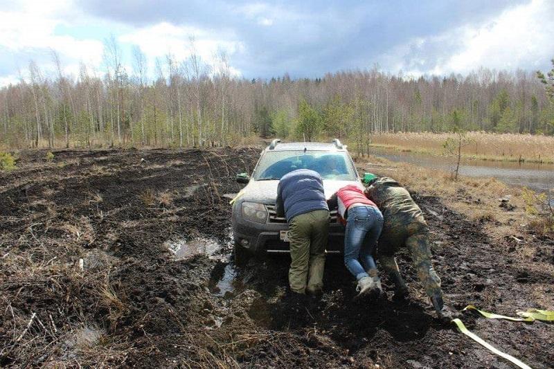поход на внедорожниках по белоруссии